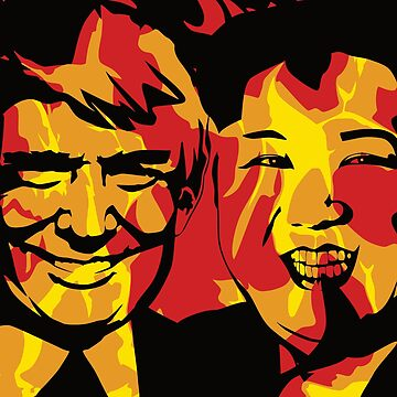 Kim and Trump by Xoes