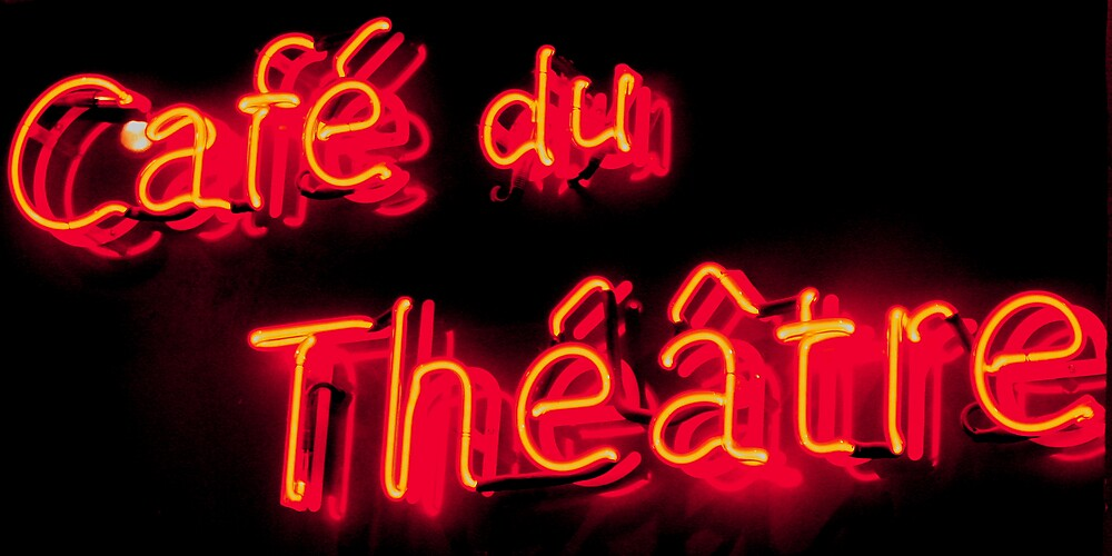 Cafe du Theatre by daviejas