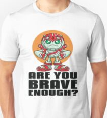 """Robobot """"Off to Mars"""" / Three / Are You Brave Enough? Unisex T-Shirt"""