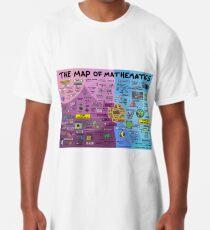 Die Karte der Mathematik Longshirt