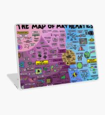 The Map of Mathematics Laptop Skin
