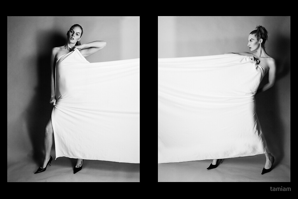 White Panel - Rechelle and Tamia by tamiam