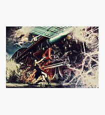 Witch Train Photographic Print