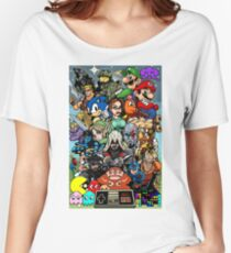 Video Game History Women's Relaxed Fit T-Shirt