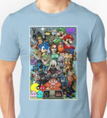 Video Game History Unisex T-Shirt