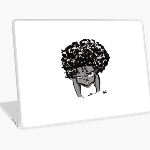 Annoyed Little Girl Laptop Skin