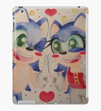 Sonic and female Sonic iPad Case/Skin