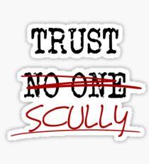 Trust Scully Sticker
