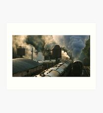 the age of steam Art Print