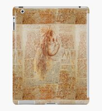 The Heart and the Bronchial Arteries ,Aorta Anatomical Drawing iPad Case/Skin