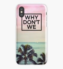 Cute Why Don't We iPhone Case/Skin