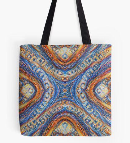 Demicircles #DeepDream Tote Bag