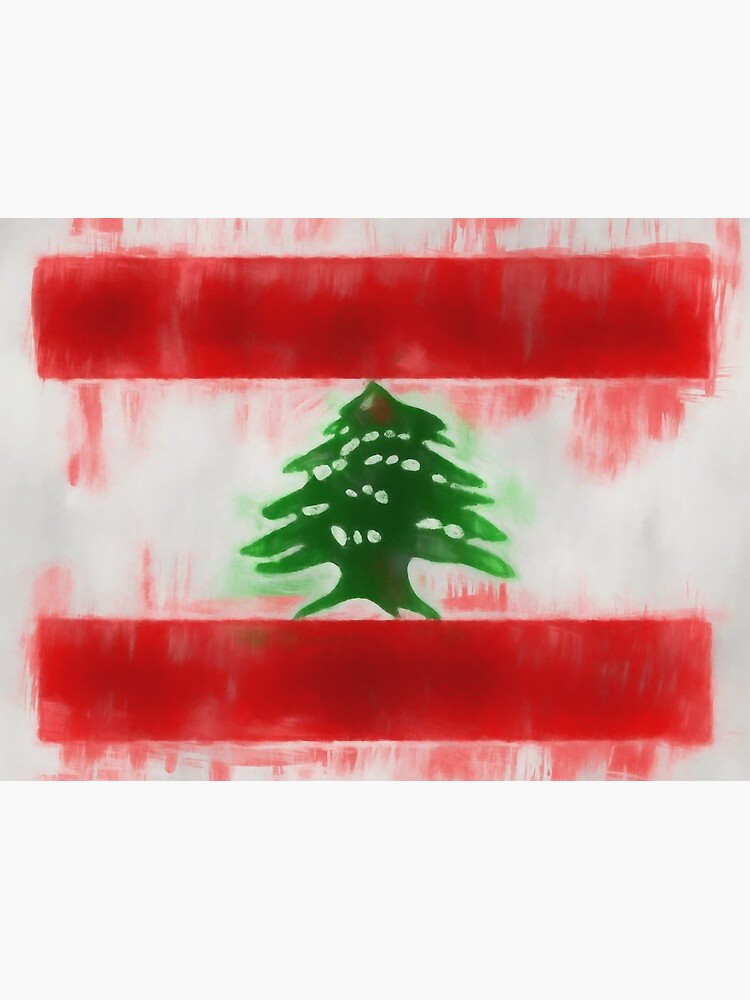 Lebanon Flag Reworked No. 66, Series 1 by 8th-and-f