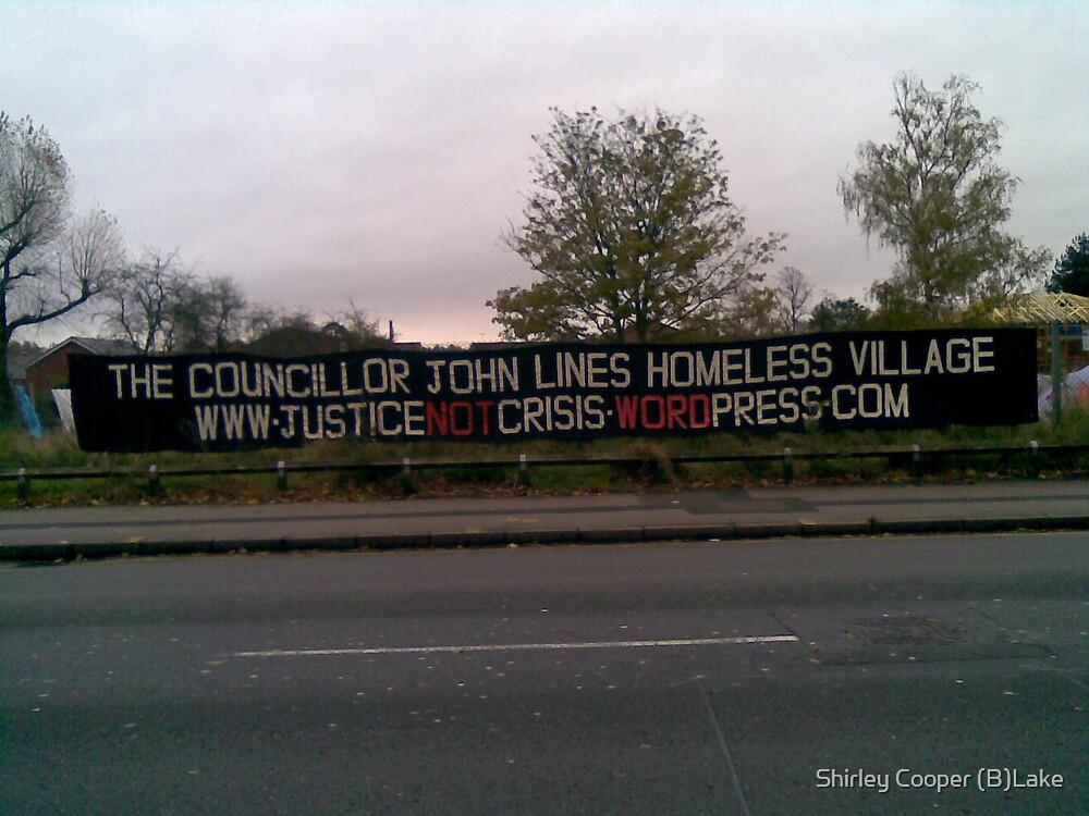 Homeless Village by Shirley Cooper (B)Lake