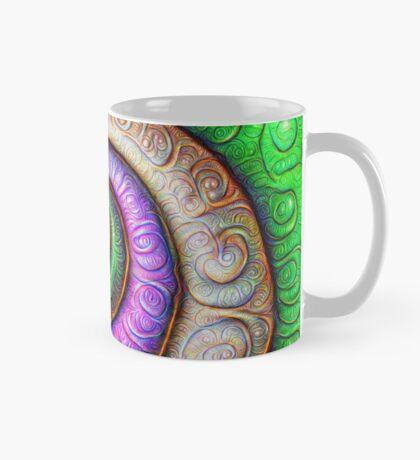 Fibonacci spiral #DeepDream #Art Mug