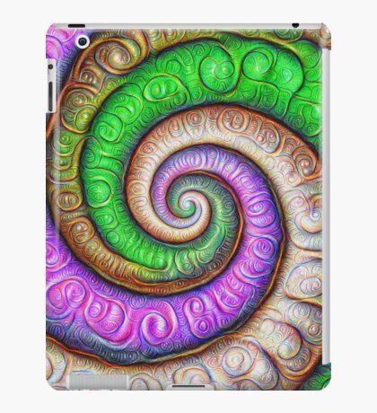 Fibonacci spiral #DeepDream #Art iPad Case/Skin