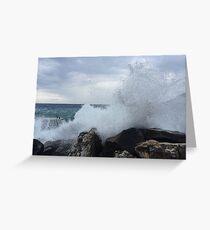 Ligurian Coast  Greeting Card