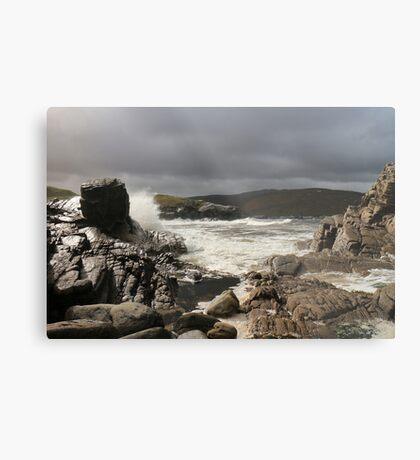 Storm over Strathan Metal Print