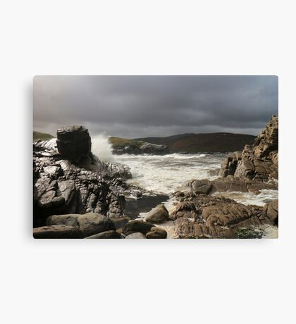 Storm over Strathan Canvas Print