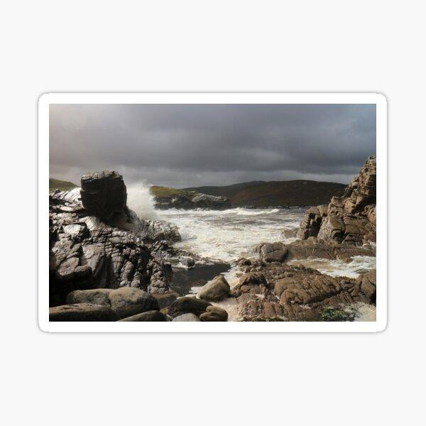 Storm over Strathan Sticker