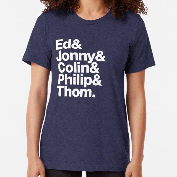 Radiohead Camiseta de tejido mixto