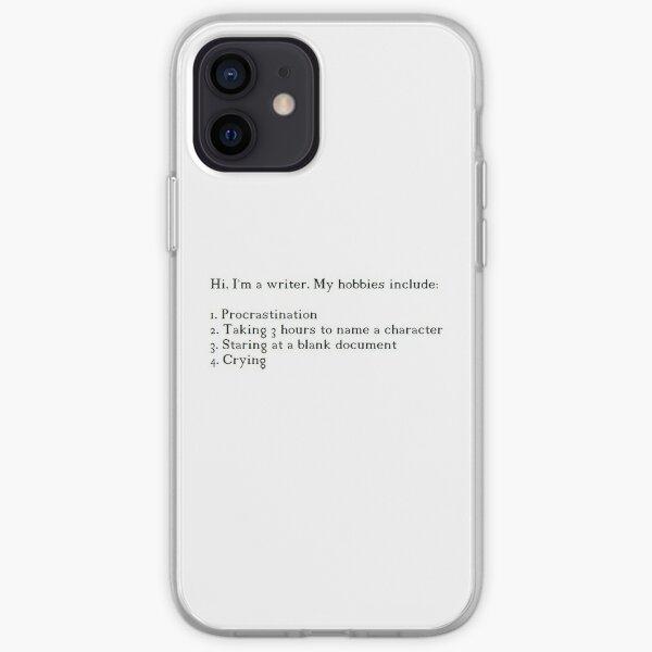 Writer Design iPhone Soft Case