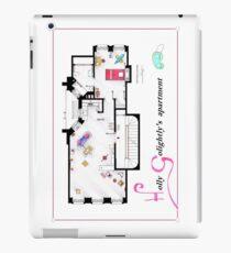 Blueprint furniture ipad cases skins redbubble breakfast at tiffanys apartment floorplan v2 ipad caseskin malvernweather Gallery