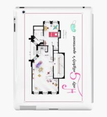 Blueprint furniture ipad cases skins redbubble breakfast at tiffanys apartment floorplan v2 ipad caseskin malvernweather Image collections