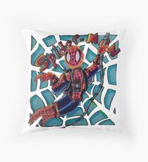 SPIDER MAN! a hero we need, on most of our stuff Throw Pillow