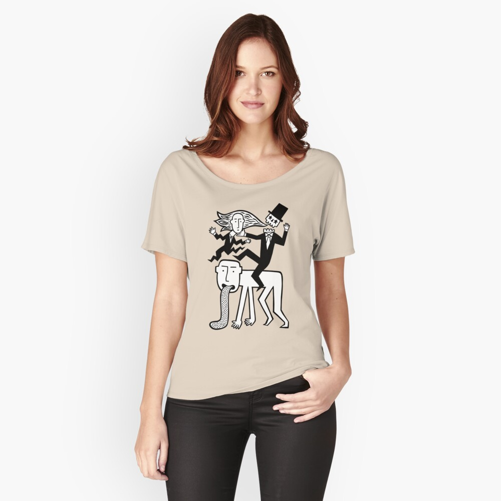 A hell of a ride Relaxed Fit T-Shirt