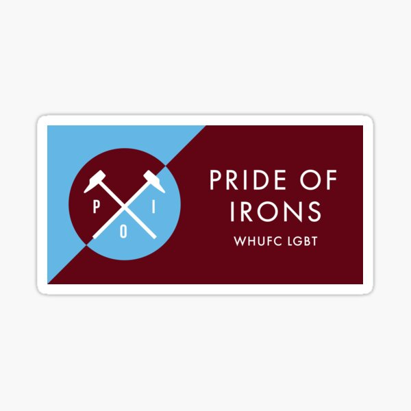 Pride Of Irons Retro Sticker