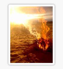 Fiery Sunset Sticker