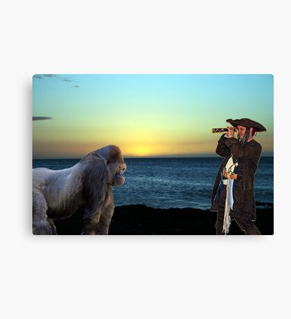 What Do Eyyyyyy See Canvas Print