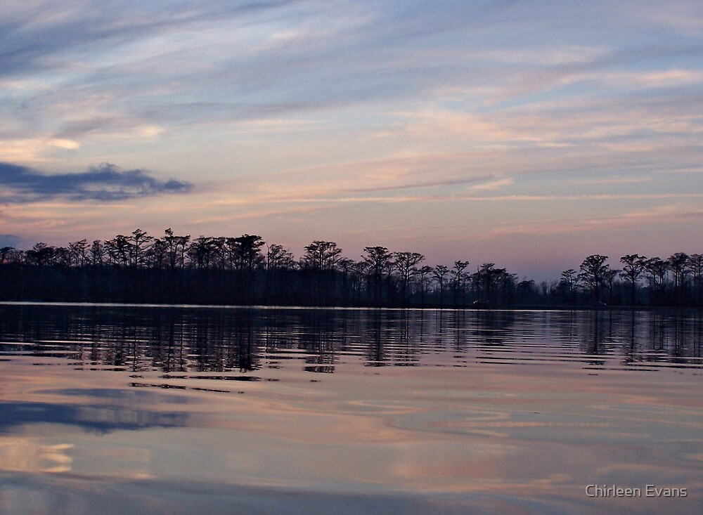 Sunset Over Perquimans by Chirleen Evans