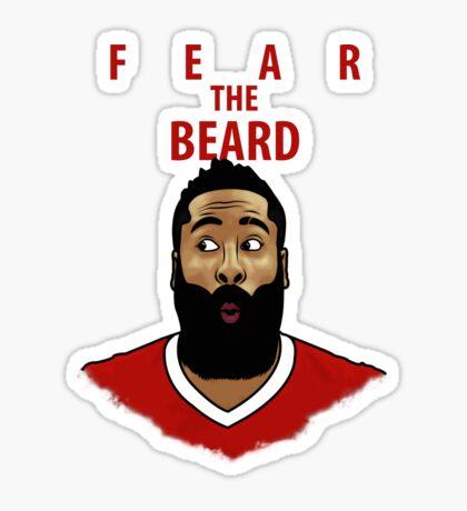 Fear the Beard Glossy Sticker