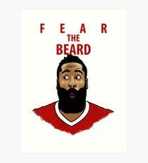 Fear the Beard Art Print