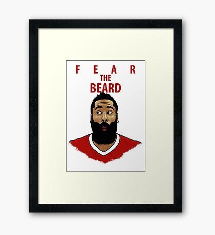 Fear the Beard Framed Print