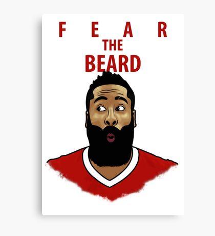 Fear the Beard Canvas Print