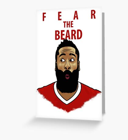 Fear the Beard Greeting Card
