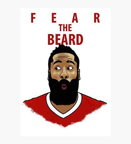 Fear the Beard Photographic Print