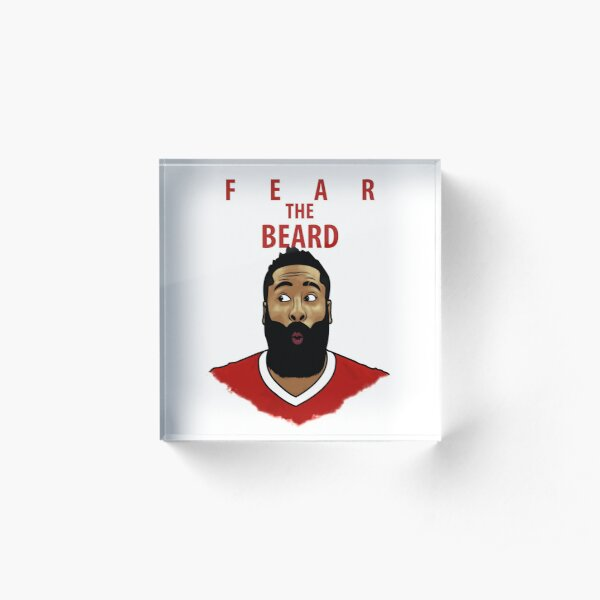 Fear the Beard Acrylic Block
