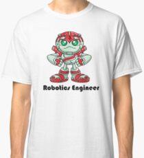 "Robobot ""Off to Mars"" / Three / Robotics Engineer Classic T-Shirt"