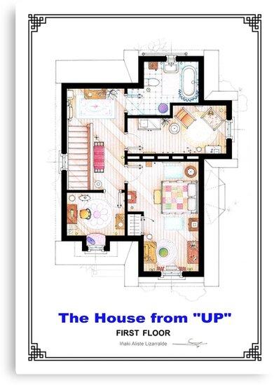 The House from UP - First Floor Floorplan by Iñaki Aliste Lizarralde
