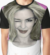 Kylie Minogue - Come on Barbie lets go party Graphic T-Shirt