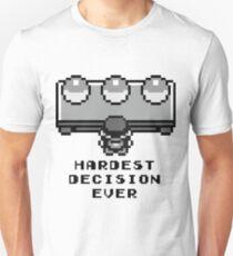Pokemon - Hardest decision ever T-Shirt