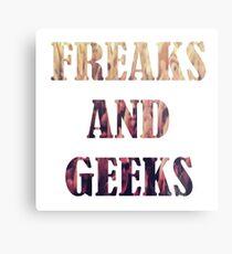 Freaks and Geeks Metal Print