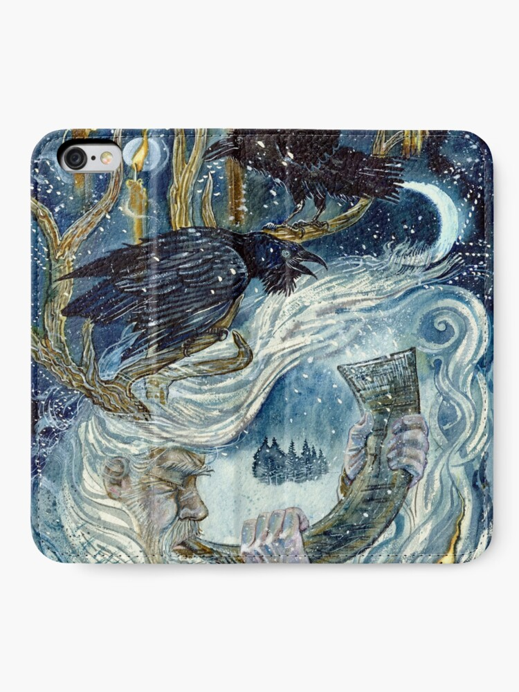 Alternate view of Winter spirit. iPhone Wallet