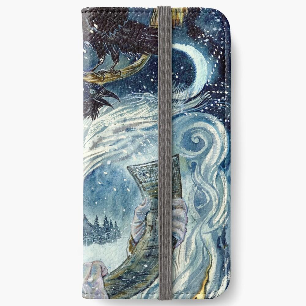 Winter spirit. iPhone Wallet