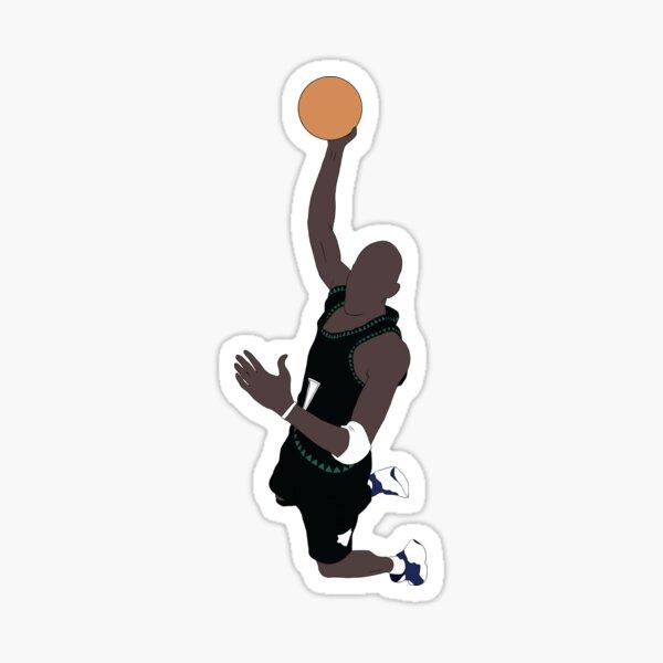 Kevin Garnett Slam Dunk Sticker