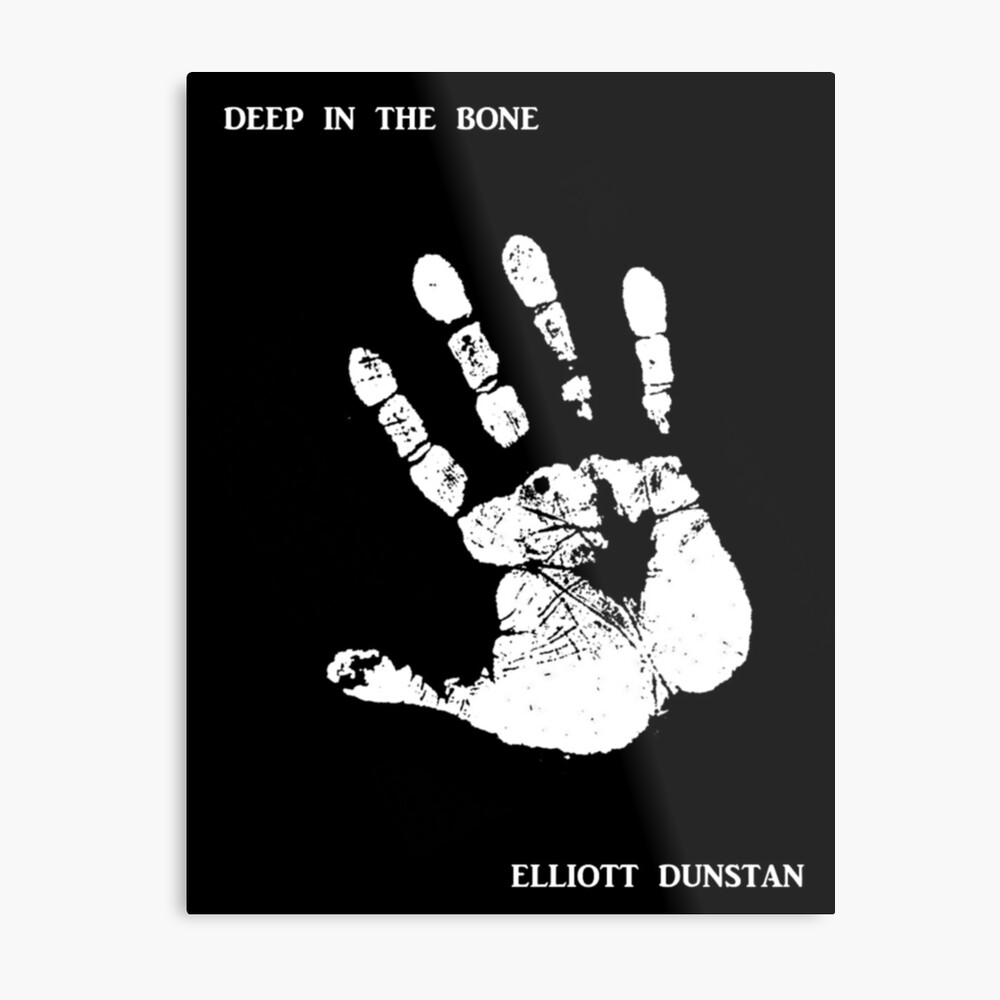 Deep in the Bone - Cover Image Metal Print